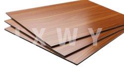 2/3/4/5/мм древесины серии A2 огнеупорный Fr алюминиевых композитных панелей с PE ПВДФ для внутренних дел наружная оболочка фасад вывески