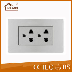 6핀 세라믹 전기 벽 전자 이더넷 태국 유형 소켓