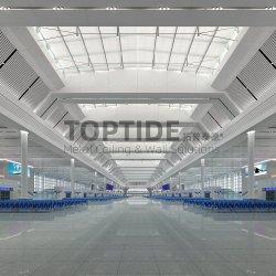 بناء سقف حائط زخرفي معلق من الفولاذ المقاوم للصدأ سقف سقف سقف مواد