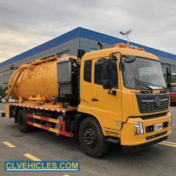 Hot Sale économique 10m3 fécale des eaux usées de nettoyage du camion d'aspiration