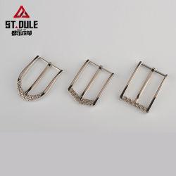 Großverkauf-Gürtelschnalle-wölbt guter Preis-Mann-Zink-Legierungs-MetallPin 35mm Gürtelschnalle-Hersteller