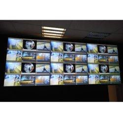 Cadre étroit de 46 pouces LCD Super mur vidéo moniteurs affichent 2K/4K pour surveiller la salle de télévision TV vidéo audio professionnelles