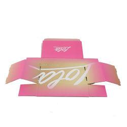 Personnaliser la couleur de pliage du papier cadeau cosmétiques Boîte avec qualité stable