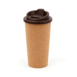 二重壁によって絶縁される旅行マグのプラスチック再使用可能なコーヒーカップ