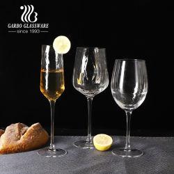 تصميم فريد من نوعه على شكل موجة خمر زجاج خمر نبيذ أحمر أدوات من الكريستال للزفاف