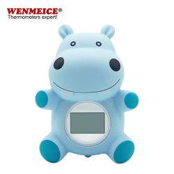 Los juguetes de baño del bebé de plástico impermeable (termómetro) en la piscina