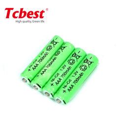 cella di batteria Ni-CD ricaricabile di 1.2V 700mAh AAA aa NiCd