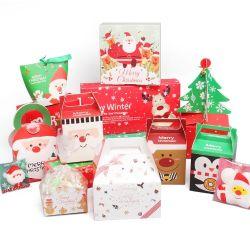 Gros spécial en forme de boîte d'Emballage de cadeau de Noël d'impression