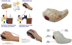 Mouse óptico sem fio Double-Duty (YX5811)