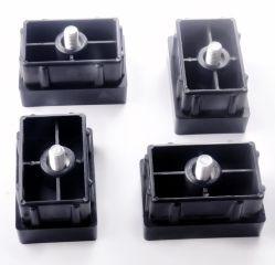 Custom пластиковую заглушку для мебели с помощью винта/Thread футов PP заглушки строительные материалы