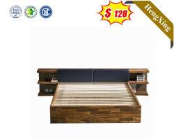 현대적인 목조 홈 침실 가구 세트 더블 침대 프레임