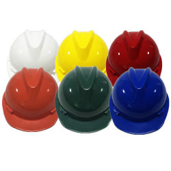 Goedkope prijs kleuren bouwplaats Industriële helm Veiligheid Helmet