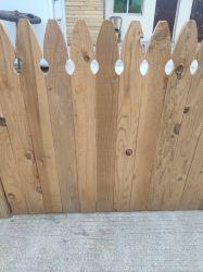 Clôture de bois de cèdre japonais Porducts Cryptomeria japonica