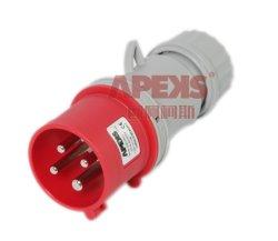 Fiche mâle CEE Bouchon industriels IP44 Plug Bouchon IP67