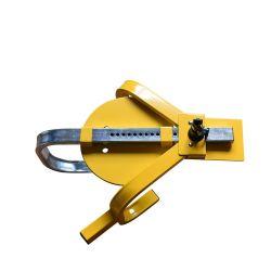 작은 삼지창 바퀴 타이어 차 Anti-Theft 자물쇠를 운영하게 쉬운 Yh1581