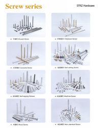 China fabricante C1022A/Ss Zincado Auto Drilling /Auto-atarraxante /madeira /Aglomerado /Parafuso de mobiliário