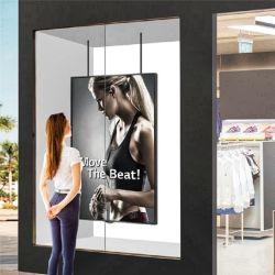 شاشة عرض نافذة نصف خارجية إعلانات اللاعبون الرقميةاللافتات الرقمية
