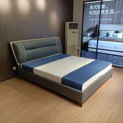 Heißer Verkauf Schlafzimmer Set Möbel Queen-Size Massivholz Doppel Bett