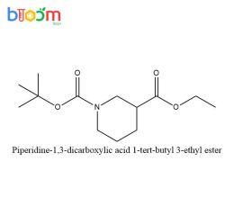 화학 시약 꽃 기술 CAS 130250-54-3 Piperidine 1, 3 Dicarboxylic 산성 1 Tert 부틸 3 에틸 에스테르