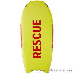 168X99X10cm Yellow Lifeguard Drop Stitch Fabric Rubberbaar Life Saving Board Rescue Slee achter Jet Ski