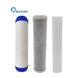 Filtro de carbón activado 10pulgadas PP derretir agua fundida para cartucho de filtro Filtro purificador de agua CTO