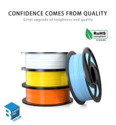 Filamento di vendita caldo del materiale di stampa della stampante di bobina accurata PLA/TPU/PETG 3D di colori di Tronhoo 23