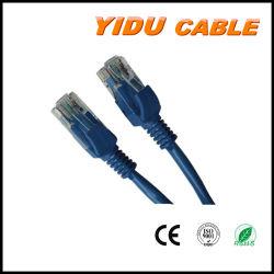 El uso de computadoras Conector RJ45 Cable de cobre de revestimiento de PVC Cat 5e 6 Cat 5e UTP CAT6 Interior FTP Cable Cable de red.