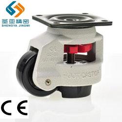 2 3 4 5 6 8 pulgadas escamoteables giratoria ajustable de nivelación de la rueda de Servicio Pesado Industrial