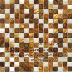 Shell-Mosaik-Fliesen Frischwasser (SMP003)