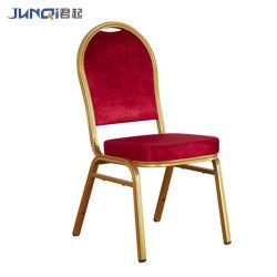 prix d'usine empilage Métal extérieur moderne Hôtel Restaurant banquet de mariage de meubles de salle à manger Président