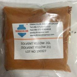 Solvente complesso metallico giallo solvente 2 gl giallo 21 coloranti d'inchiostro Colore foglio metallico di colore di colorazione di legno