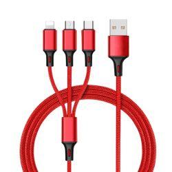 Kundenspezifisches Multifunktions-Kabel-schnelles aufladenkabel USB-2021