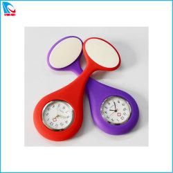 подарок для продвижения силиконовый чехол для брелока, кварцевые часы медсестры моды