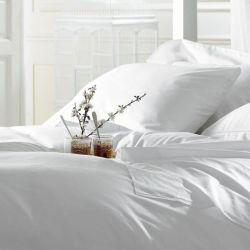 Comercio al por mayor de 5 estrellas 80 cama de algodón egipcio de satén Hospital/Conjunto de ropa de cama de hotel