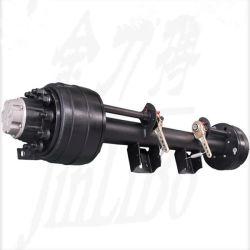 Cama Axle-Low reboque eixo usando o caminhão baixa ou Semi-Trailer