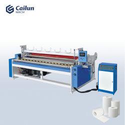 Velocidade alta Automatic Small Business higiénico Fabricação de papel a máquina Linha Completa com corte longitudinal e máquina de Enrolamento