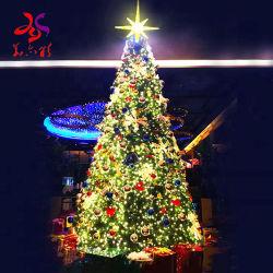 Schöne im Freienled beleuchtet Weihnachtenkünstlichen Belüftung-Weihnachtsbaum mit Weihnachtsverzierung-Weihnachtsbaum-Hersteller