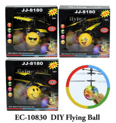 Mini sfera infrarossa dell'elicottero del ronzio di induzione con il giocattolo della novità di Whirly