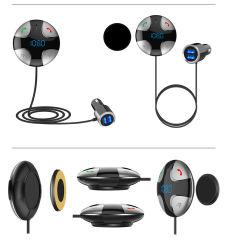 Spot Großhandel Wireless Adapter Carkit für Auto-Lautsprecher Dual USB-Ladegerät FM Modulator BT Freisprecheinrichtung Auto