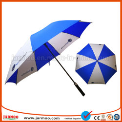 Logotipo personalizado grossista transparente Guarda Golf Piscina Rainbow Umbrella