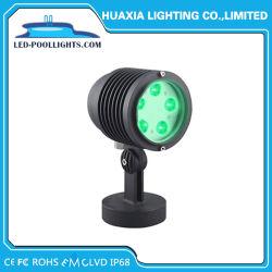 15W AC220V IP65 Ronda Bace Jardín de luz LED de exterior