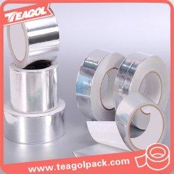 Adhesivo acrílico conducto ignífugos resistentes al calor de la cinta de aluminio