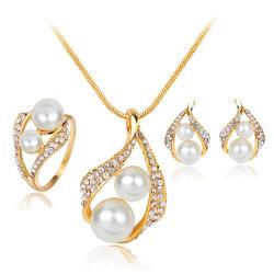 Mode Accessoires bijoux mariage Fashion femmes Pearl Earrings Bijoux Set