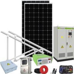100kw Mini Usina do Sistema Solar Sistema de monitoração SCADA para venda