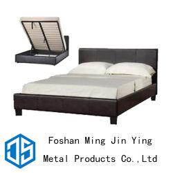 Caixa alta cama de mola pneumática da estrutura de metal para Mobiliário de quarto (A020)