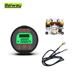 Tr16 80V50LCD Universal Alquiler de plomo ácido de batería de litio Indicador de la capacidad de carga de tensión de descarga de probador de contador