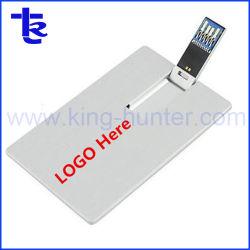 회사 선물을%s 명반 금속 신용 카드 USB 플래시 디스크