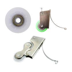 Accesorios de muebles de Aluminio Sofá puerta corredera armarios de rodillos el rodillo de ducha de ruedas