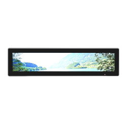 28 インチ TFT の超広い伸張された棒は LCD のビデオ広告を伸ばした ディスプレイメディアモニター Android デジタルサイネージ屋内 / 屋外商用タッチスクリーン 表示( Display )