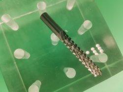 Fresa di vetro dell'estremità del cereale del circuito dell'epossidico di vetro del cartone di fibra degli utensili per il taglio di CNC